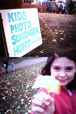 Photos from the family-oriented scavenger hunt event