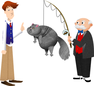 Puzzle Clubhouse characters Jasper, Cornelius, and Purrcival
